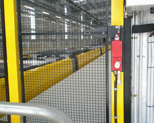 Machine Safety Fencing Amgard Ikon Engineered Solutions