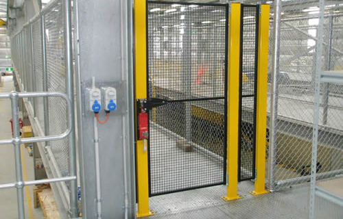 Machine safety fencing zone ikon engineered solutions